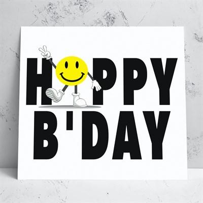 Birthday Smiley Greeting Card