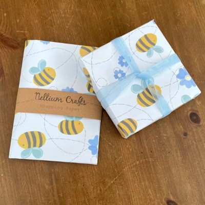 Buzzy Bee Wrapping Paper