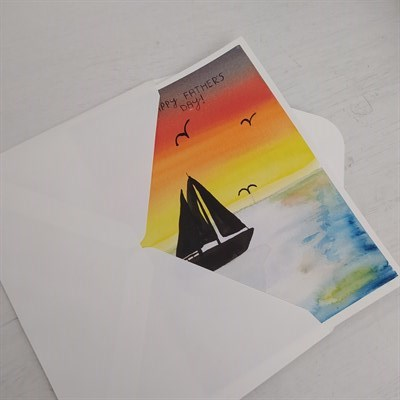 Father's Day Sailing Card