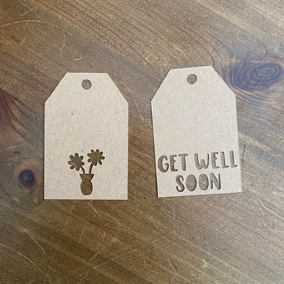 Get Well Soon Mini Gift Tags