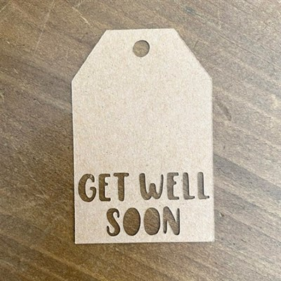 Get Well Soon Tags