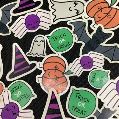Halloween Sticker Collection by Blooming Crown