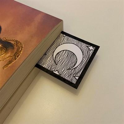"6""x2"" Illustrated Bookmark"