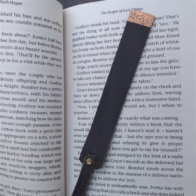 Bookmark with book