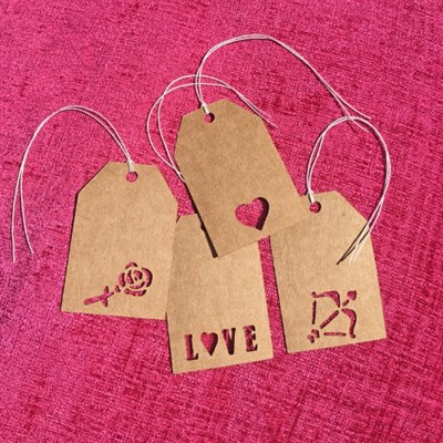 Love Themed Mini Gift Tags