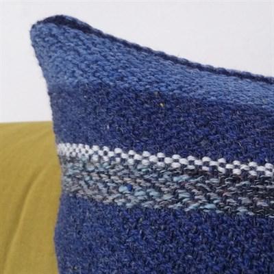 Ocean Blue 1 cotton cushion