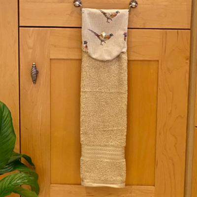 Pheasant Print Kitchen Gift Set towel