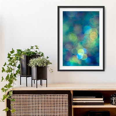 Photographic art print: Blue of the Night room setting