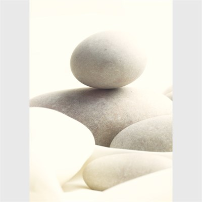 Photographic Art Print 'Serene Pebbles' whole image