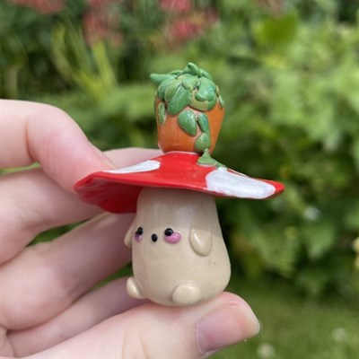 Plant Mossy Mushroom Plant Friend