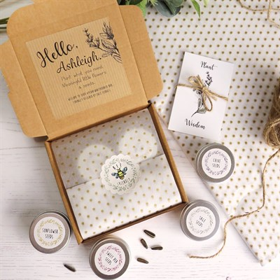 Plant What You Need Gift Box