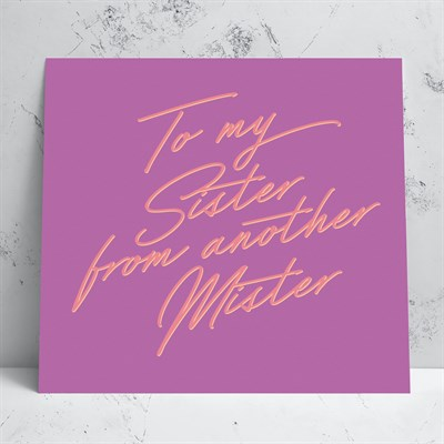Sister From Another Greeting Card