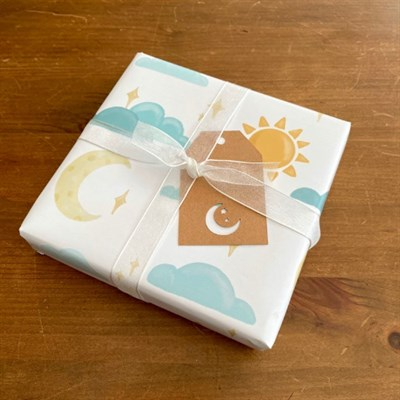 Goes perfectly with the Moon Tag from my Sun and Moon Mini Gift Tags