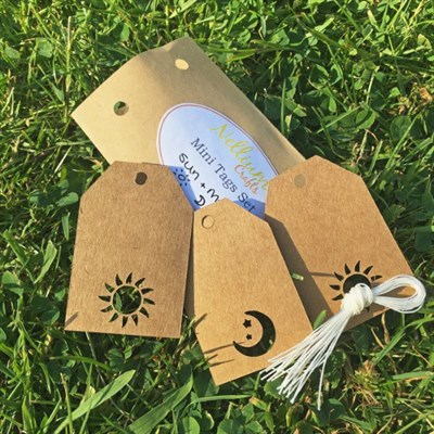 Everything included in your gift tag set