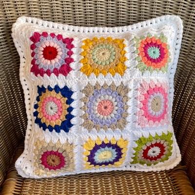 Sunburst Square Cushion 2