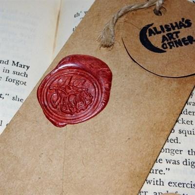Vintage Retro Bookmark