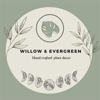 Willow & evergreen logo