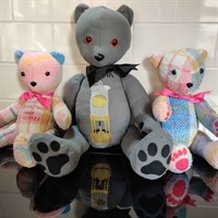 """18"""" Embroidered Personalised Memory Bear"""