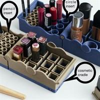3D printed cosmetic organiser
