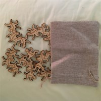 7 Piece Geckos Tessellation Puzzle with bag gallery shot 14
