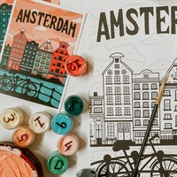 Amsterdam Paint By Numbers Kit
