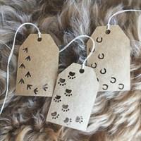 Animal Print Gift Tags