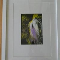 Awakening; Acrylic on art card original Rev Deb painting