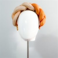Gold Ombre Braided Padded HeadBand