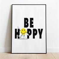 Be Happy Print gallery shot 1