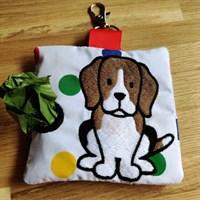 Beagle poop bag holder