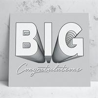 Big Congratulations