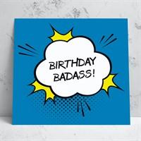 Birthday Badass Birthday Card