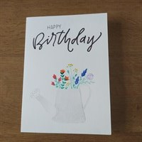 Birthday Watering Can Card