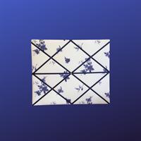 Blue Flower Message, Photo, Displayboard