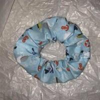 Blue Sailors Mate Seaside Scrunchies