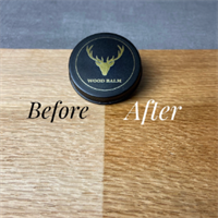 Wood Balm Before & After