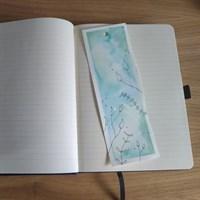 Botanical Watercolour bookmark
