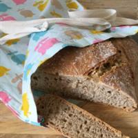Bread bag and sandwich wrap