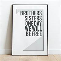 Brothers and Sisters Print