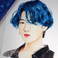 A6 Art Print of Jungkook BTS