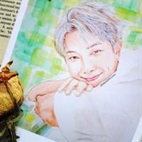 BTS Namjoon Art Print