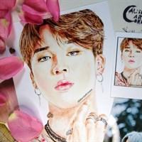 BTS Park Jimin Art Print A4
