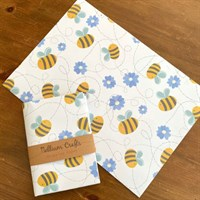 Flowers and Bees design