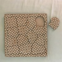 Cairo pattern tessellation Tray Puzzle piece removed gallery shot 4