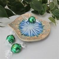 Ceramic sunburst patterned trinket dish (sweets not included!)