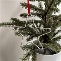 Christmas Star Tree Wire Decoration
