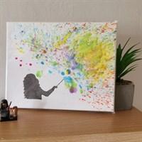 Crayon Art canvas - magic