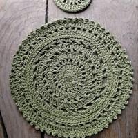 Crochet Boho Placemat