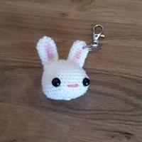 Crochet Bunny keyring