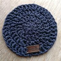 Crochet coaster single - Navy